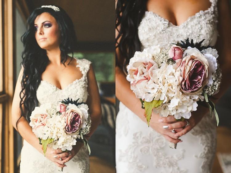 elegant muskoka dock wedding-12