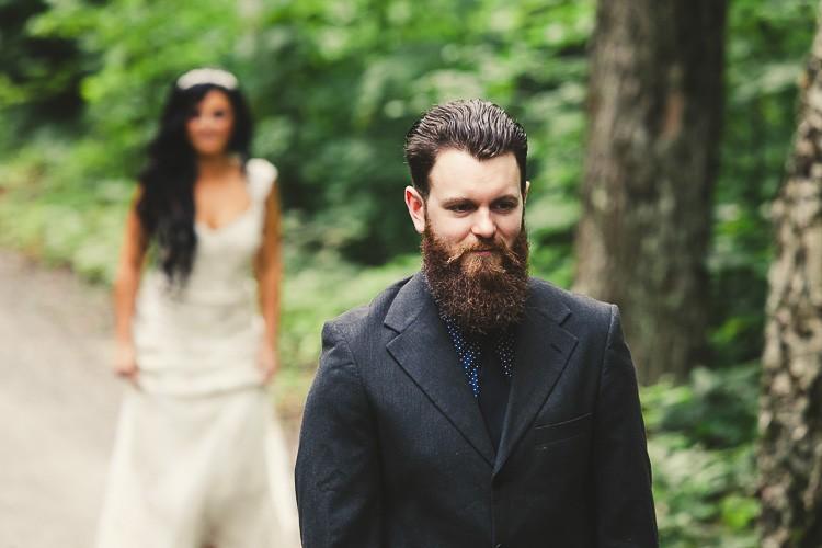 elegant muskoka dock wedding-23