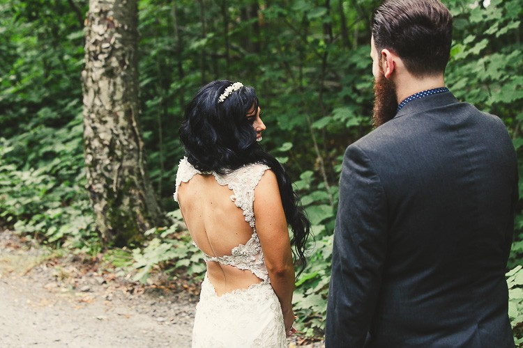 elegant muskoka dock wedding-25