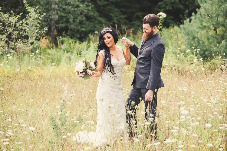 elegant muskoka dock wedding-48