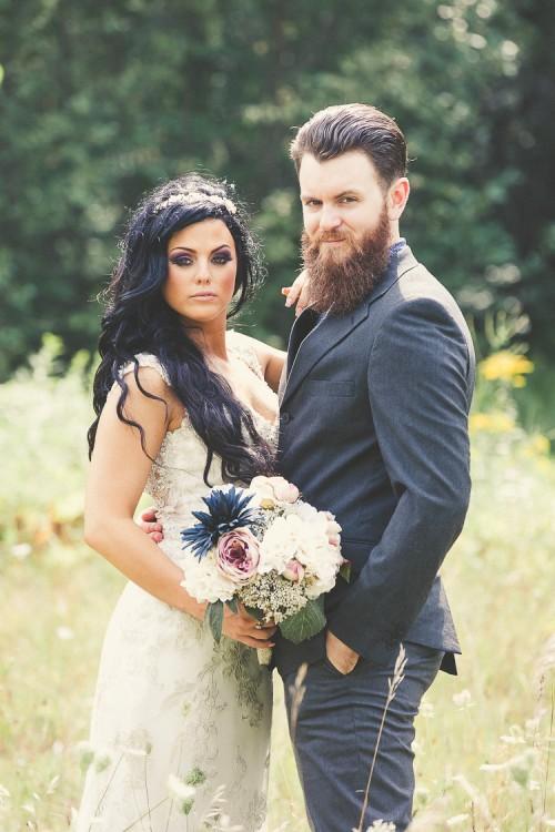 elegant muskoka dock wedding-49