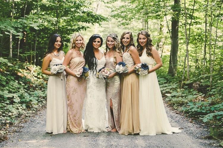 elegant muskoka dock wedding-51