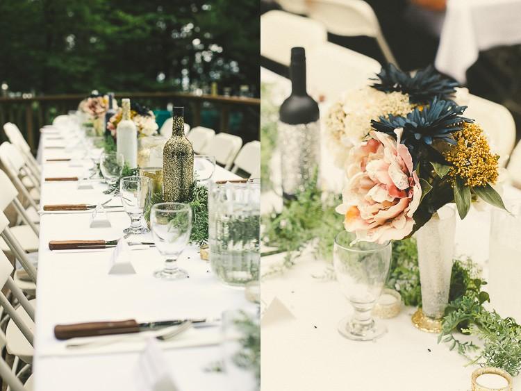 elegant muskoka dock wedding-56