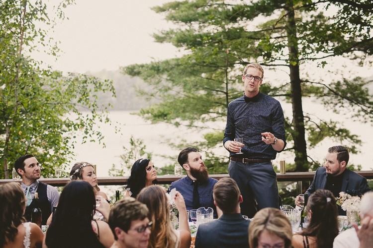 elegant muskoka dock wedding-59