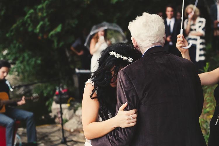 elegant muskoka dock wedding-70