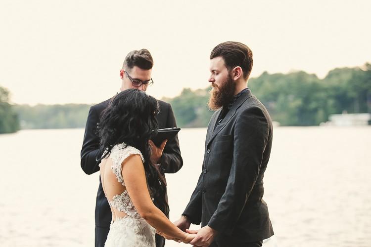 elegant muskoka dock wedding-77