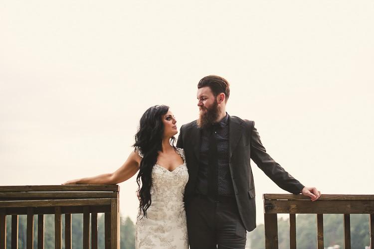 elegant muskoka dock wedding-92