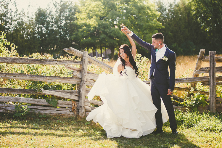 A Family Wedding At Country Heritage Park